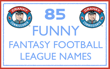 League Name ideas for fantasy football image