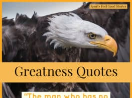 Sports Quotes about Greatness image