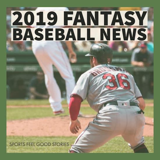 2019 Fantasy Baseball News image