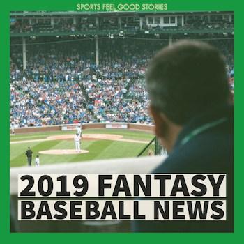 2019 Fantasy Baseball News button image