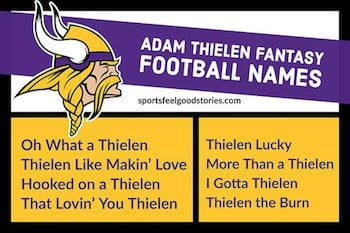 Adam Thielen Fantasy Football Names button image