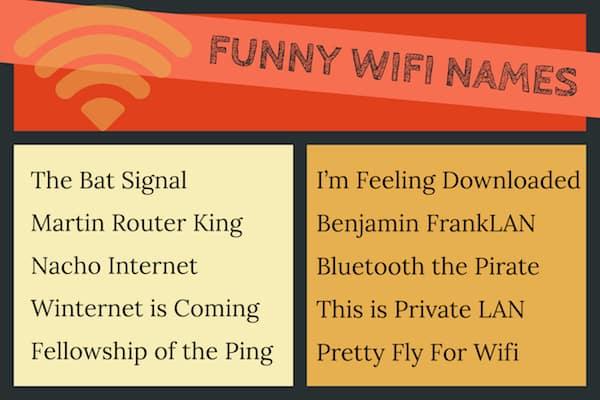 Amusing Wifi Names image