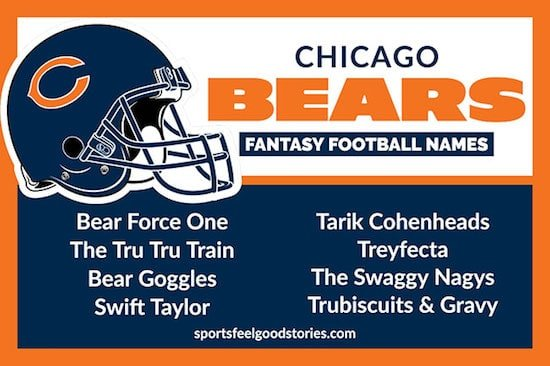 Chicago Bears Fantasy Football Names