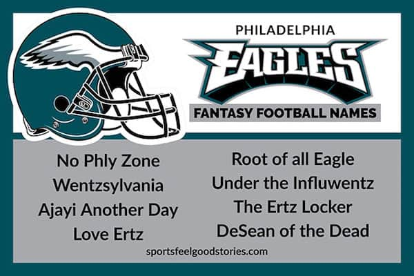 Eagles Fantasy Football Names image