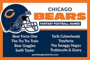 Fantasy Football Names for Bears image