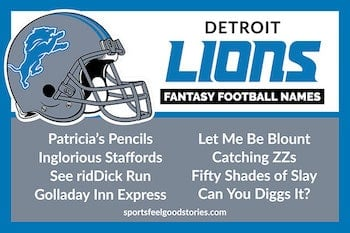 Fantasy football names detroit lions button image