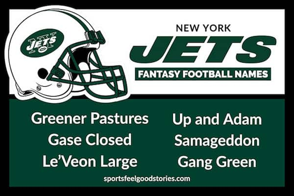 Jets Fantasy Football Names image