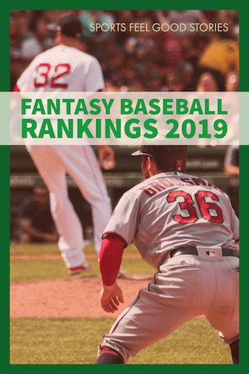 Rankings by position for fantasy baseball image