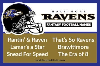 Ravens Fantasy football names button image