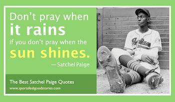 Satchel Paige quotes button
