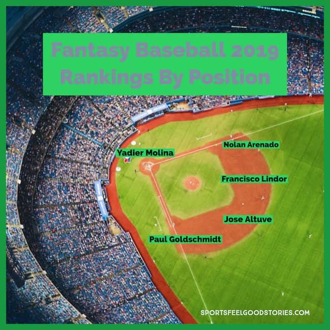 fantasy baseball rankings 2019 image