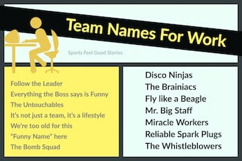 team names for work groups button image
