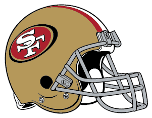 49ers helmet logo image