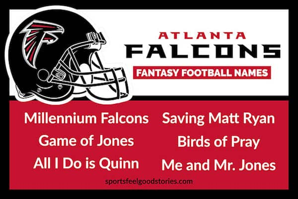 Atlanta Falcons Fantasy Football Team Names image