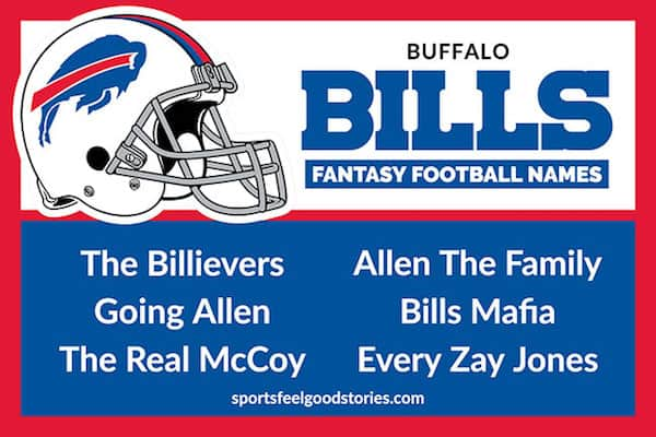 Bills Fantasy Football Names image