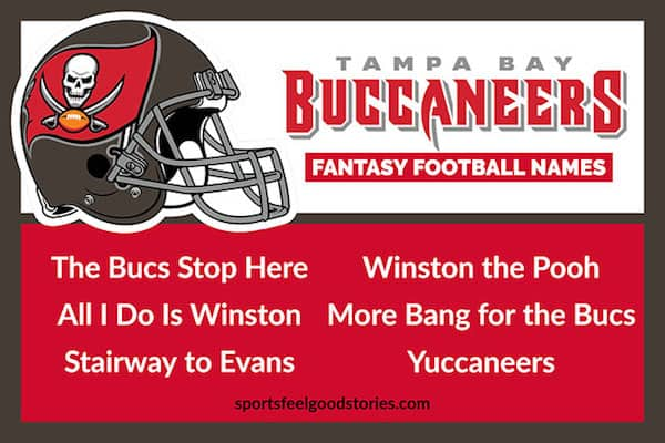 Buccaneers Fantasy football names image