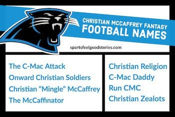 Christian Mccaffrey fantasy names image