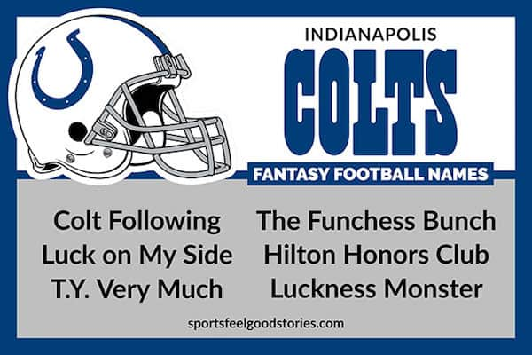 Colts Fantasy Football Names image