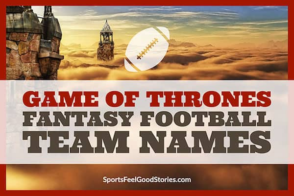 Game of Thrones Fantasy Football Names image