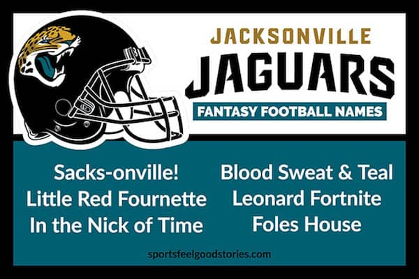 Jaguars Fantasy Football Names image