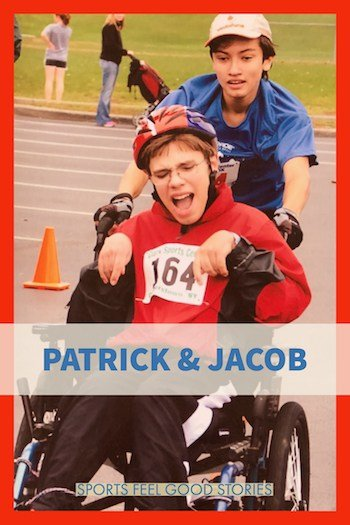 Patrick and Jacob competing image