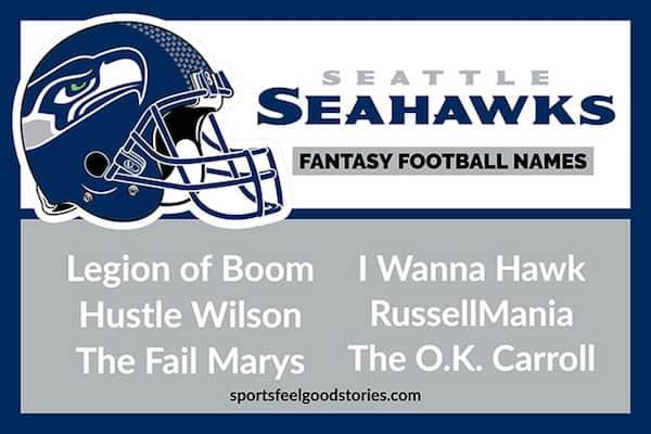 Seahawks fantasy football names image