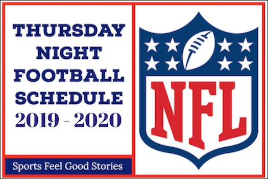 image relating to Printable Packer Schedule named Thursday Night time Soccer 2019 Program NFL Athletics Appear to be Optimistic