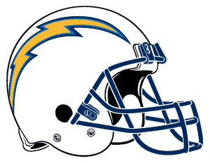 NFL logos: chargers helmet image