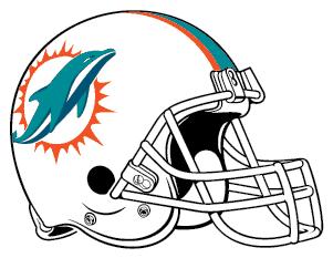 dolphins helmet logo image