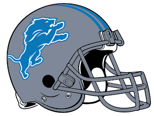 lions helmet logo image