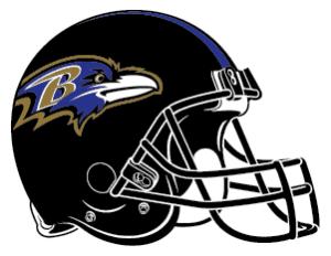 ravens helmet logo image