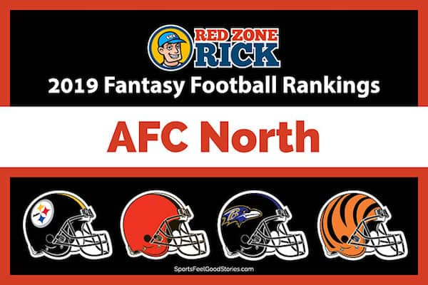 AFC North Fantasy Football Rankings image