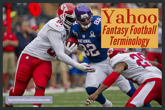 Glossary for Yahoo fantasy football image