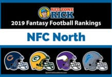 NFC North Fantasy Football Rankings image