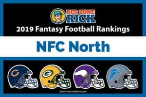 NFC North Fantasy Football Rankings image