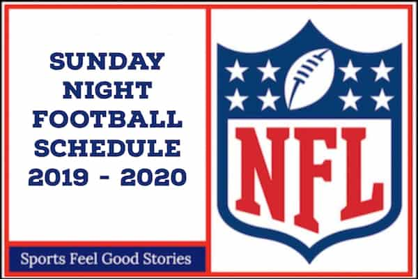 Sunday Night Football Schedule 2019 image