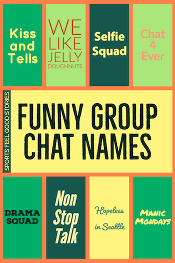 Super Cool group chat names image