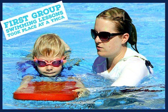 Swimming lessons and the Y image