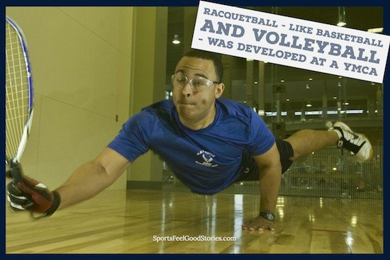 YMCA's Contributions To Sports - racquetball image