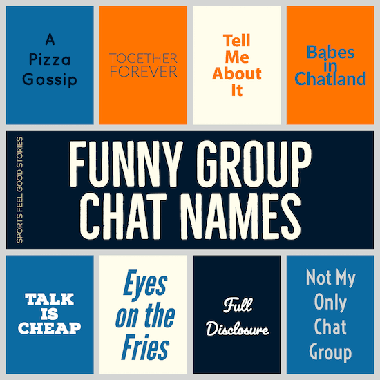 Funny Group Chat Names To Make You Laugh Like Your Friends Do