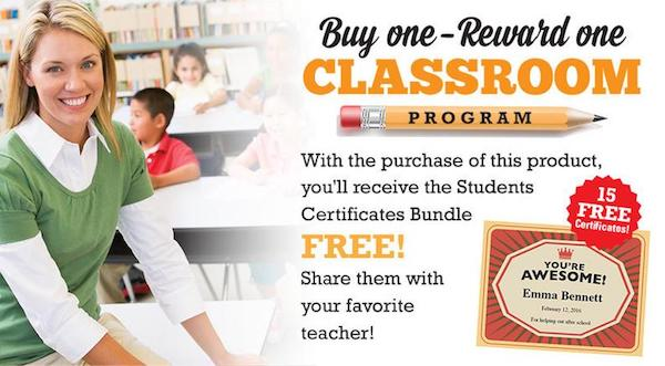 Free student certificates pack program image
