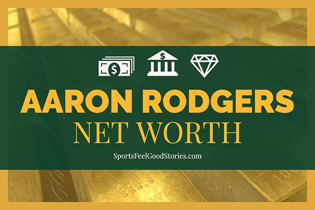 Aaron Rodgers Net Worth image