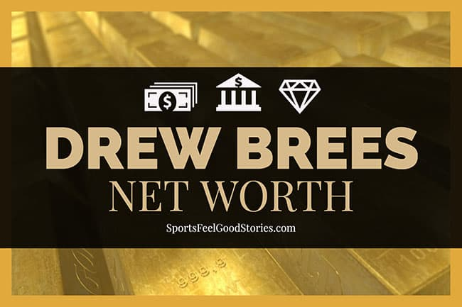 Drew Brees net worth image