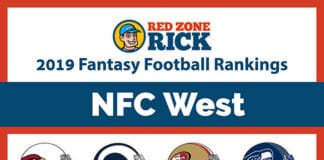 Fantasy Football Player Rankings NFC West image