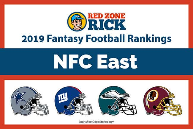 Fantasy football player rankings for NFC East