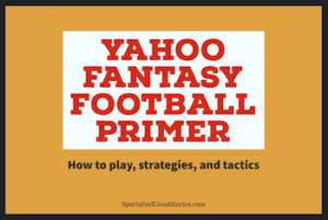 How to play Yahoo fantasy football image