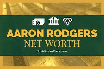 Net worth for Aaron Rodgers image