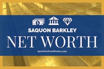 Net worth for Saquon Barkley image