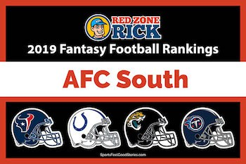 Player rankings for AFC South image