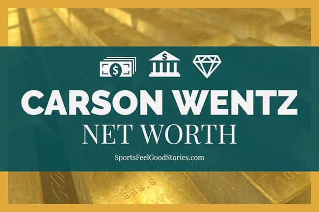 Carson Wentz net worth image